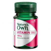 Nature's Own Vitamin B6 200mg 60 Tablets