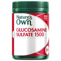 Nature's Own Glucosamine Sulfate 1500mg 200 Tablets
