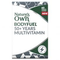 Nature's Own Bodyfuel 50+ Years Multivitamin 60 Tablets
