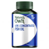 Nature's Own 4 in 1 Concentrated Fish Oil 90 Capsules