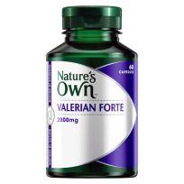 Nature's Own Valerian Forte 2000mg 60 Capsules