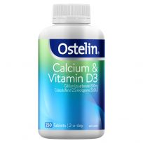 Ostelin Vitamin D & Calcium 250 Tablets