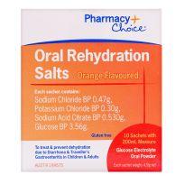 Pharmacy Choice Oral Rehydration Sachets 10 Pack