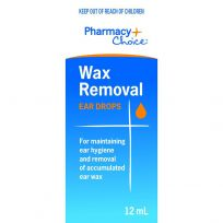 Pharmacy Choice Wax Removal Ear Drops 12ml
