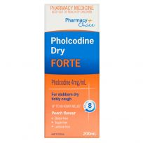 Pharmacy Choice Pholcodine Dry Cough Forte 200ml