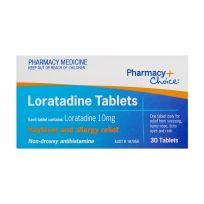 Pharmacy Choice Loratadine 30 Tablets