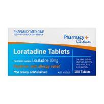 Pharmacy Choice Loratadine 100 Tablets