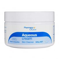 Pharmacy Choice Aqueous Cream Jar 500G