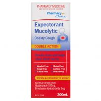 Pharmacy Choice Expectorant Mucolytic Chesty Cough Liquid 200ml