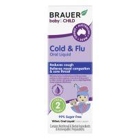 Brauer Baby & Child Cold & Flu Oral Liquid 100ml
