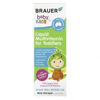 Brauer Baby & Kids Liquid Multi for Toddlers 100ml