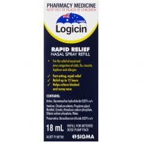 Logicin Metered Dose Nasal Spray Refill