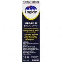 Logicin Metered Dose Nasal Spray 18ml