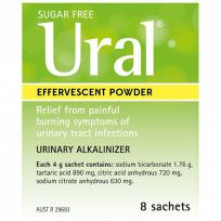 Ural Effervescent Powder 8 Sachets