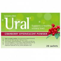 Ural Cranberry Effervescent Powder 28 Sachets