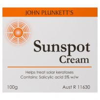 John Plunkett's Sunspot Cream 100g