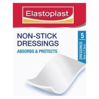 Elastoplast Non-Stick Dressings 5cm X 7.5cm 5 Pack