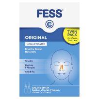 Fess Saline Nasal Spray Twin Pack 150ml