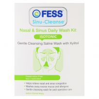 Fess Sinu Cleanse Nasal & Sinus Daily Wash Kit 60 Sachets