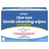 Murine Clear Eyes Gentle Cleansing Wipes 30 Pack