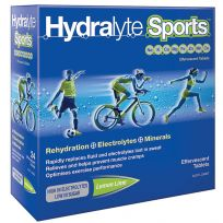 Hydralyte Sports Electrolyte Effervescent Lemon Lime 20 Tablets