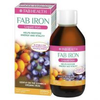 FAB Iron Liquid Iron 200ml