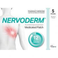 Nervoderm Lignocaine 5 Dermal Patches Pack