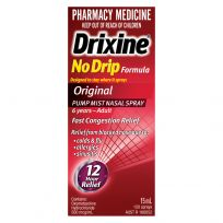 Drixine No-Drip Nasal Spray Original 15ml