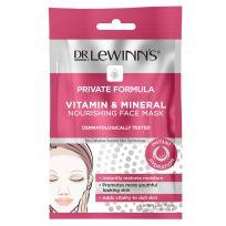 Dr Lewinn's Private Formula Vitamin & Mineral Nourishing Face Mask 1 Pack