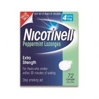 Nicotinell Lozenges 4mg 72 Pack