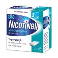 Nicotinell Gum 2mg Mint 216 Pack