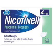Nicotinell Lozenge 4mg Peppermint 216 Pack