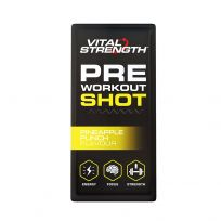 Vital Strength Pre Workout Pineapple 5 x 10g
