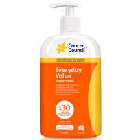 Cancer Council Sunscreen Everyday SPF 30+ Pump 500ml