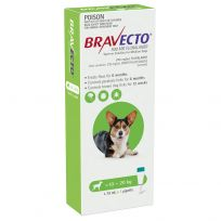 Bravecto Spot-On Medium 10 - 20kg Dog Flea & Tick Green 1 Pack