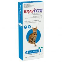 Bravecto Cat Medium 2.8kg - 6.25kg Blue 2 Pack