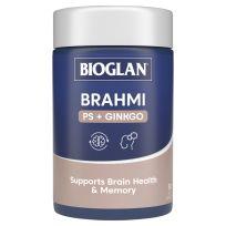 Bioglan Brahmi + PS + Ginko Focus 50 Capsules