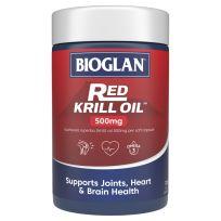 Bioglan Red Krill Oil 500mg 120 Capsules