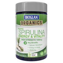 Bioglan Organics Spirulina 200 Tablets
