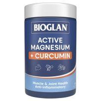 Bioglan Magnesium + Curcumin 120 Tablets