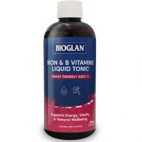 Bioglan Iron + B Vitamins Liquid Tonic 250ml