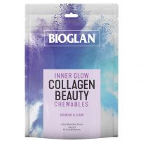 Bioglan Inner Glow Beauty Collagen 60 Chewable Tablets