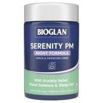 Bioglan Serenity PM Night Formula 40 Capsules