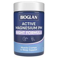 Bioglan Active Magnesium PM Night Formula 60 Tablets