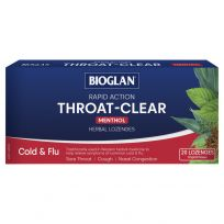 Bioglan Throat Clear Herbal Lozenges Original 20 Pack