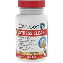 Caruso's Stress Clear 60 Tablets