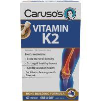 Caruso's Vitamin K2 60 Capsules