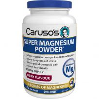 Caruso's Super Magnesium Powder Berry Flavour 250g