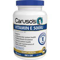 Caruso's Vitamin E 500IU 150 Tablets