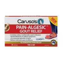 Caruso's Pain Algesic Gout Relief 30 Capsules